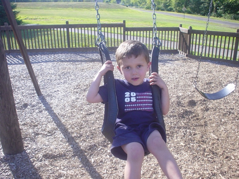 Sweet Seth On Swing
