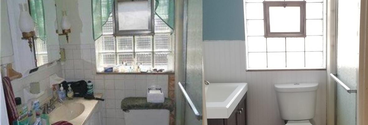 Old and New Ambridge Bathroom