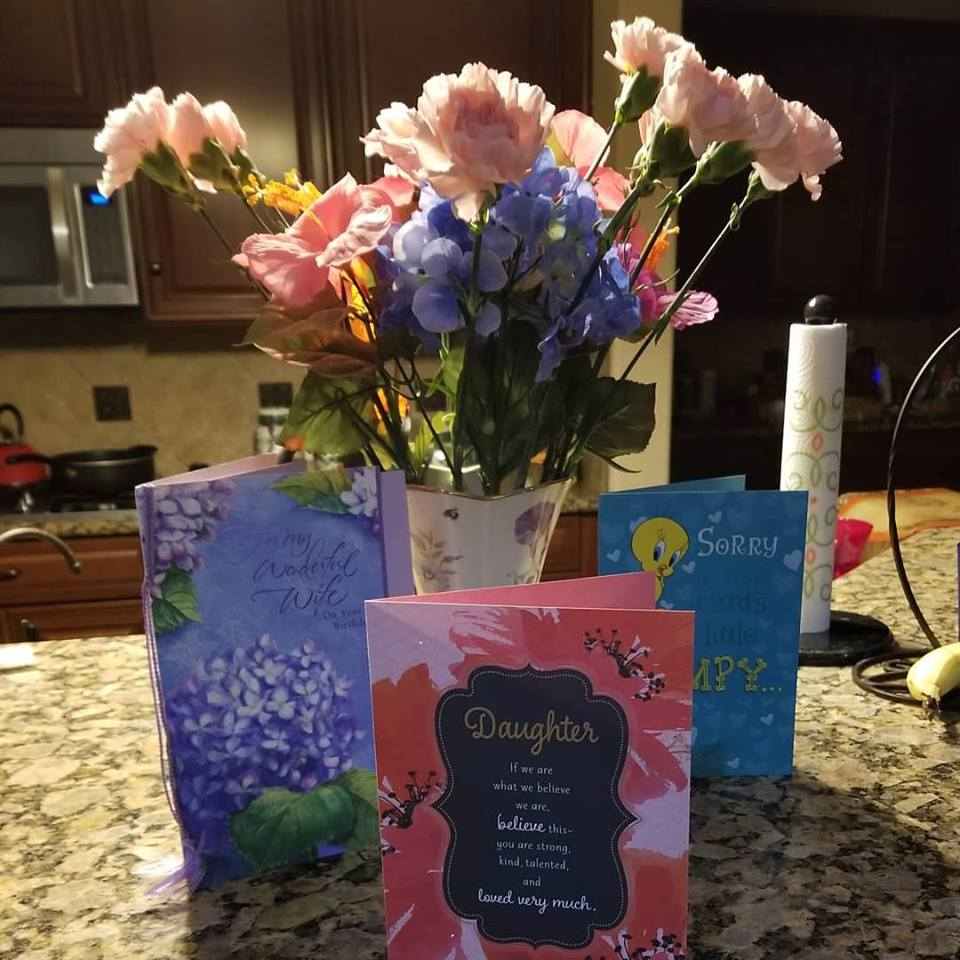Birthday Cards and Flowers 2018