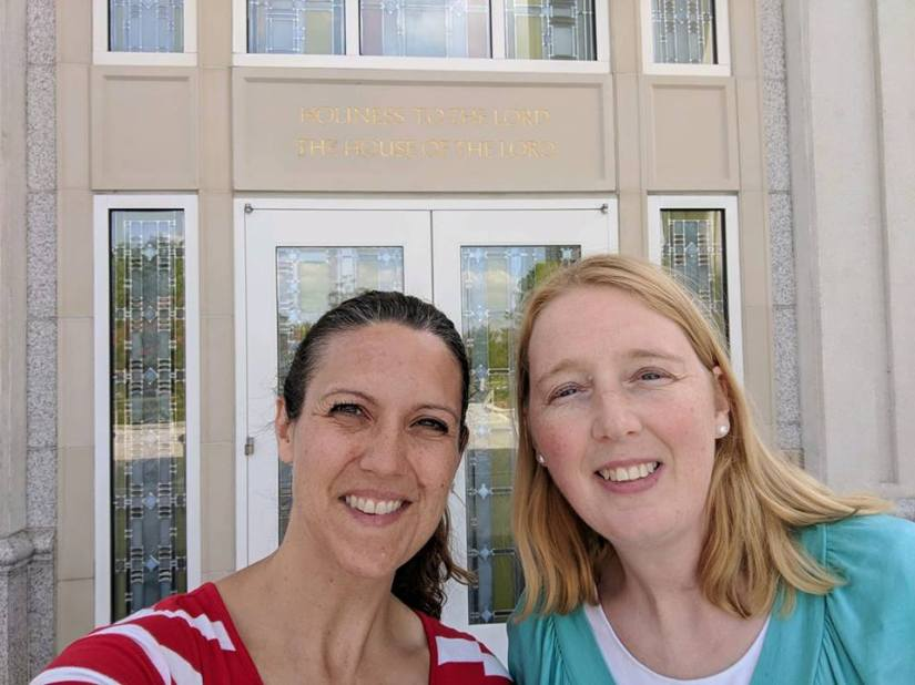 Tamara and I