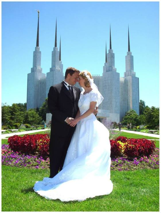 Temple Wedding Pic